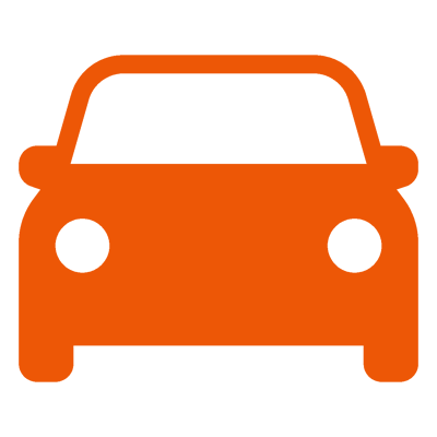 orange vehicles icon