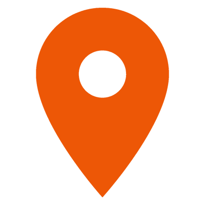 check in orange icon
